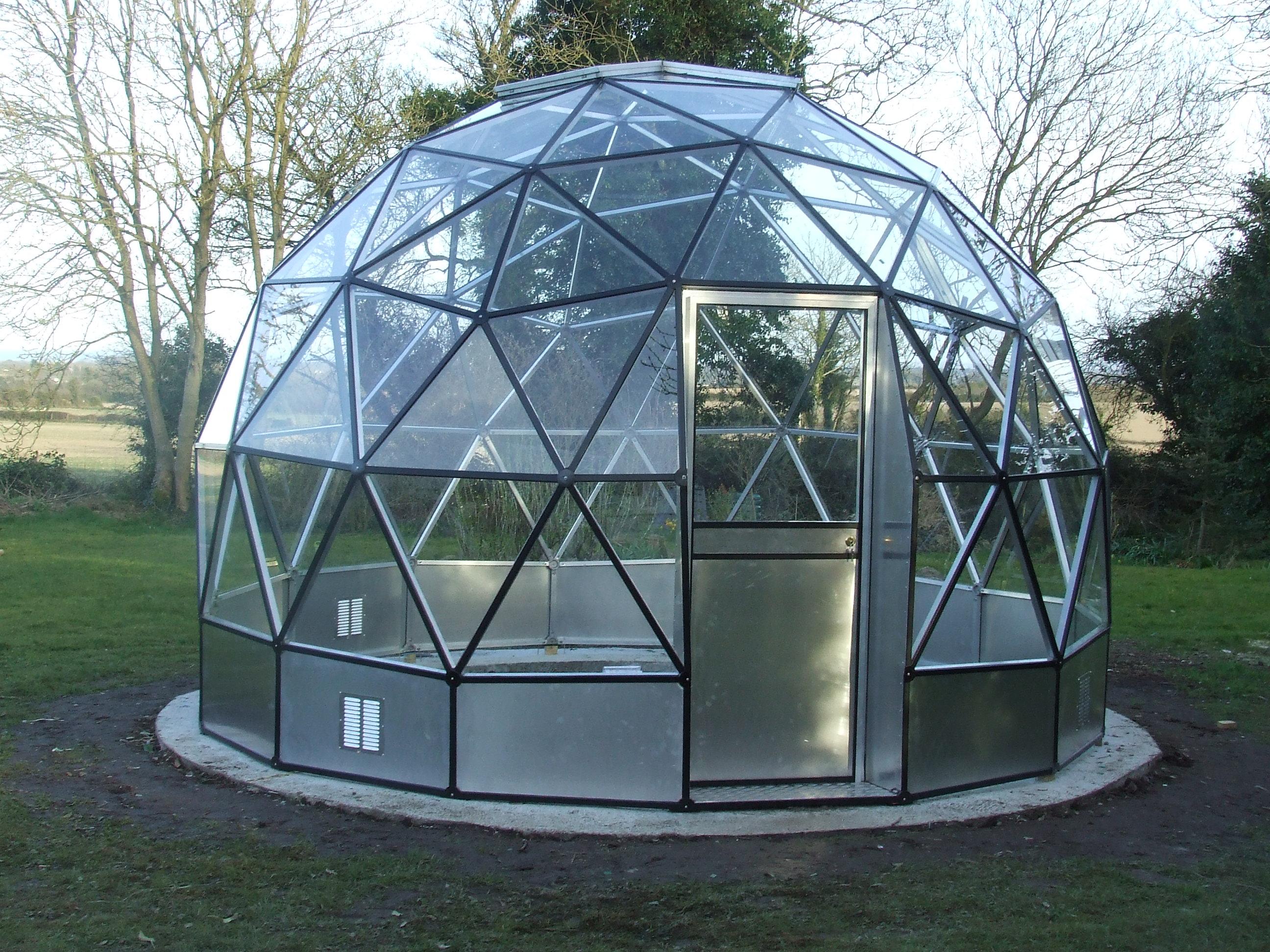 015 domos geod sicos geodesic domes - Invernadero de cristal ...