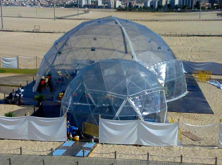 Domos Geodésicos 7,5 m y 15 m